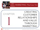 Lecture Marketing: The core (5/e): Chapter 1 – Kerin, Hartley, Rudelius