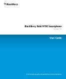 Documentation using BlackBerry Bold 9700 Smartphone