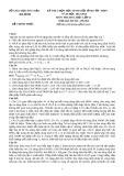 Đề thi học sinh giỏi tỉnh cấp THPT môn Hóa học 11 năm 2012-2013 - Sở GD&ĐT Hà Tĩnh