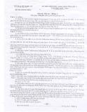 Kì thi học sinh giỏi tỉnh môn Hóa học lớp 11 năm học 2013-2014 - Sở GD&ĐT Nghệ An