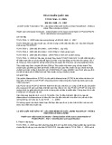 Tiêu chuẩn Quốc gia TCVN 7556-3:2005 - BS EN 1948 - 3:1997