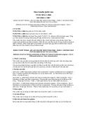 Tiêu chuẩn Quốc gia TCVN 7576-1:2006
