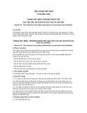 Tiêu chuẩn Việt Nam TCVN 6904:2001