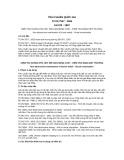 Tiêu chuẩn Quốc gia TCVN 7507:2005