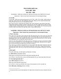 Tiêu chuẩn Quốc gia TCVN 7488:2005 - ISO 7250:1996