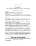 Tiêu chuẩn Quốc gia TCVN 6848:2007