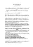 Tiêu chuẩn Quốc gia TCVN 6846:2007
