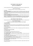 Quy chuẩn kỹ thuật Quốc gia QCVN 01-97:2012/BNNPTNT