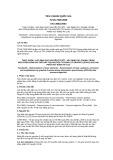 Tiêu chuẩn Quốc gia TCVN 7929:2008