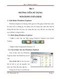 Bài 3: Hướng dẫn sử dụng Windows explorer - Phạm Quốc Tú