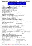 Tổng ôn lí thuyết Vật lí 2014 – phần 1