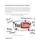 Hướng dẫn cách kiếm tiền trên Youtube