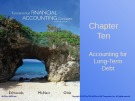 Lecture Fundamental financial accounting concepts (8/e): Chapter 10 - Edmonds, McNair, Olds