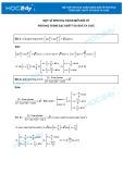 Một số phương trình biến đổi về phương trình bậc nhất với Sinx và Cosx