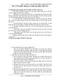 Bài giảng Pháp Luật Việt Nam đại cương: Bài 3 - Th.S Vũ Thị Bích Hường