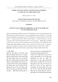 Nghiên cứu hoạt tính ức chế enzym α-glucosidase của một số cây thuốc Đồng Tháp