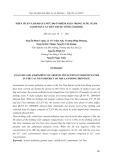 Phân tích và đánh giá mức độ ô nhiễm asen trong nước ngầm tại huyện Cát Tiên thuộc tỉnh Lâm Đồng