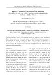 Khảo sát thành phần hóa học cao Chloroform của thân cây Xáo tam phân - Paramignya Trimera (Oliver) Burkill - Họ Rutaceae