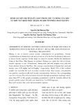 Đánh giá mức độ tích lũy asen trong tóc và móng của dân cư khu vực khai thác quặng đa kim Núi Pháo, Thái Nguyên
