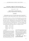 Tổng hợp và nghiên cứu tính chất phức chất một số nguyên tố đất hiếm nặng với axit 2-phenoxybenzoic