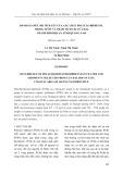 Đánh giá mức độ tích lũy của các chất polyclo biphenyl trong nước và trầm tích tại cửa đại, thành phố Hội An, tỉnh Quảng Nam