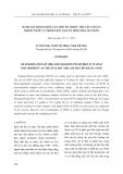 Đánh giá hàm lượng của một số thuốc trừ sâu cơ clo trong nước và trầm tích tại cửa sông Hàn, Đà Nẵng