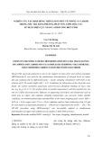 Nghiên cứu xác định đồng thời lượng siêu vết đồng và cađimi trong mẫu trà bằng phương pháp von-ampe hòa tan, sử dụng điện cực nano cacbon ống biến tính