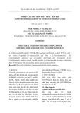 Nghiên cứu cấu trúc phức chất hốn hợp naphthoyltrifloaxeton và o-phenantrolin của Y(III)