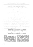 Tổng hợp và nghiên cứu tính chất phức chất 2-hiđroxynicotinat của một số nguyên tố đất hiếm