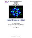 Giáo trình Thực hành phân tích định lượng: Phần 2 - Trần Thị Yến (chủ biên)