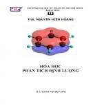 Giáo trình Hóa học phân tích định lượng: Phần 1