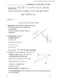 Phát triển tư duy khoa học & sáng tạo giải toán hình học tọa độ phẳng oxy