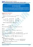 Các phương pháp đặc trưng trong Hóa học hữu cơ