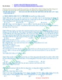 Hướng dẫn giải chi tiết đề thi thử môn Hóa đề thi thử lần 7 - 2012