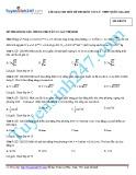 Lời giải chi tiết đề thi môn Vật Lý THPT Quốc gia 2015 (Mã đề 247)