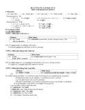 Đề cương ôn tập học kỳ II môn Anh khối 10 (Cơ bản)