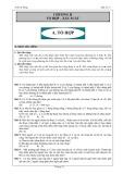 Chương II Tổ hợp – Xác suất (Đại số 11)
