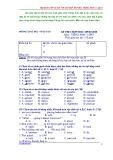 Bộ sưu tập 30 đề thi và đáp án HSG Tiếng Anh – lớp 8