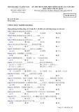 Đề thi Trung học phổ thông Quốc gia năm 2016 môn: Tiếng Trung Quốc - Bộ GD&ĐT (Mã đề 162)