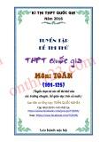Tuyển tập đề thi thử THPT Quốc gia môn Toán (101-125)