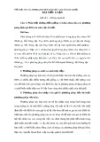 Tiểu luận môn: Các phương pháp định giá tài sản và giá trị doanh nghiệp
