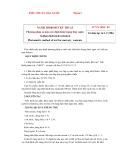Tiêu chuẩn nhà nước TCVN 3804:1983
