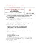 Tiêu chuẩn nhà nước TCVN 3795:1983