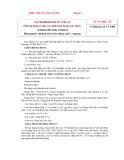 Tiêu chuẩn nhà nước TCVN 3802:1983