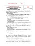 Tiêu chuẩn nhà nước TCVN 3796:1983