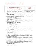 Tiêu chuẩn nhà nước TCVN 3797:1983