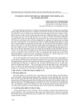 Ứng dụng chỉ số NDVI để xác định diện tích trồng lúa tại tỉnh Hải Dương