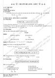 Chuyên đề Hóa học hay: Este - Lipit