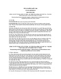 Tiêu chuẩn Quốc gia TCVN 10204:2013 - ISO 6798:1995