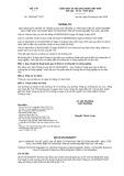 Quy chuẩn kỹ thuật Quốc gia QCVN 25:2016/BYT
